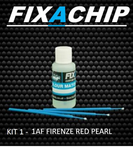 LAND ROVER CAR TOUCH UP PAINT - CODE 1AF - FIRENZE RED PEARL (KIT 1)