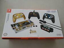 Legend of Zelda Breath of the Wild Nintendo Switch Accessory Bundle No Car Charg