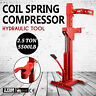 2.5Ton Coil Spring Compressor Heavy Duty Foot Pedal Hydraulic Tool Auto Tool Red