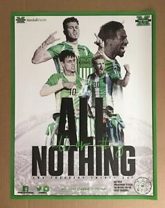 2020 NATIONAL CHAMPIONS MARSHALL UNIVERSITY MEN'S SOCCER SCHEDULE POSTER