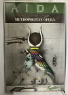 1978 Metropolitan Opera AIDA Paul Wunderlilich Framed Poster