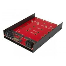 More details for star tech 4x m.2 ngff sata ssd in 3.5 inch hdd bay pc/mac