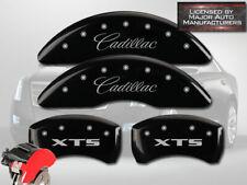 2013 2019 Cadillac Xts Front Rear Black Mgp Brake Disc Caliper Cover 4pc Set