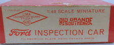 "On3 CRAFTSMAN SSLTD ""RIO GRANDE SOUTHERN FORD INSPECTION CAR KIT"" UNSTARTED"