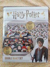 Harry Potter Reversible Super Soft Character Double Duvet Set Duvet Pillowcase