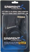 SABRENT USB 2.0 to Serial 6-FT (1.8metre) Adapter Cable (FTDI Chipset)