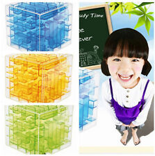 Magical 3D Maze Magic Cube Puzzle Game Children Educational Labyrinth Toy