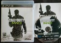 Call of Duty: Modern Warfare 3 (Sony PlayStation 3, 2011) 100% Guaranteed
