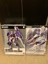 Official Bandai Metal Build Mobile Suit Gundam Seven Sword + 00 Raiser GN Set