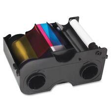 Fargo 45010 DTC1000 DTC1250e YMCKOK Color Ribbon Kit - 200 Prints - Sealed - New