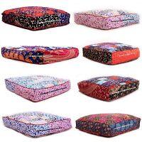 Lot of 10 Mandala Floor Pillow Large Meditation Cushion Cover Tapestry Bedding