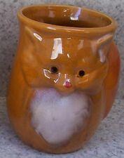 Coffee Mug Hand Warmer Brown Fox left NEW 15 ounce cup with gift box