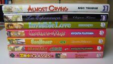 Yoai Manga Books - Job lot of 7 Romantic Graphic Novels