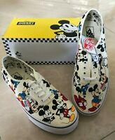 Authentic Disney Vans Mickey's Birthday 90th Anniversary Men's Size 12