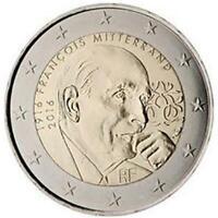 2 euro Francia 2016 Francois Mitterrand