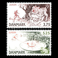 Denmark 1997 - EUROPA Stamps - Tales and Legends - Sc 1078/9 MNH