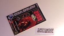 La Notice pour le jeu Hard core 4x4 / pour Console Sega Saturn