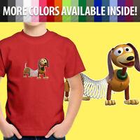 Toy Story Slinky Dog Dachshund Disney Pixar Friend Toddler Kid Tee Youth T-Shirt