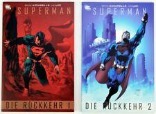 DC Superman - Die Rückkehr , kompl. # 1+2, deutsch, Panini 2006, Z 0-1