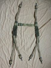 Brelage transport radio US BC-1000 Signal Corps kaki OD7 bicolore 1944-1945