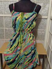 MIM  Robe / tunique (legere )  coul multi couleur   taille 34/36 **  EXCEL ETAT