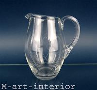 alte WMF Glas Kanne Krug mit Schliff 50er 60er Jahre Design Glass Jug vintage