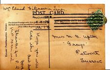 """Family History Postcard - Upton - """"Grays"""" - Petworth - Sussex - Ref 1183A"""