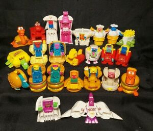 Vintage 1987 McDonald's Changeables  Transformers Happy Meal 22 Different Figure