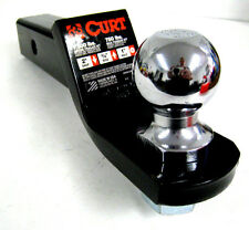 """Curt 45036 2"""" Drop, 3/4"""" Rise, 1"""" Hole Loaded Ball Mount Truck Hitch New 7500lbs"""