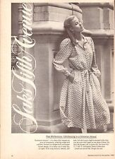 1980 Saks 5th Avenue Department Store Print Advertisement Ad Vintage VTG 80s