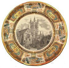 Masons Christmas 1986 plate Canterbury Cathedral CP371