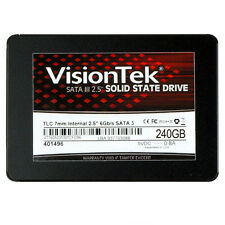 "VisionTek 240gb TLC 7mm SATA III Internal 2.5"" SSD 900878"