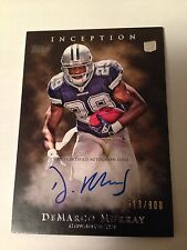 2011 Topps Inception DeMARCO MURRAY On Card Autograph # 513/800