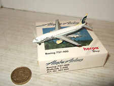 Herpa Wings 501309, Boeing 737-400 for Alaska Airlines in 1:500 Scale.