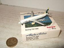 Herpa Wings 501309, Boeing 737-400 for Alaska Airlines in 1:500 Scale.