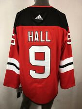 Adidas Climalite New Jersey Devils #9 Taylor Hall Jersey Fight Strap NWT Sz 50