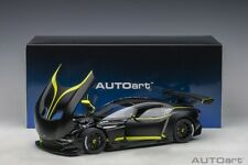 Autoart ASTON MARTIN VULCAN MATT BLACK/LIME GREEN STRIPES 1/18 Scale In Stock!