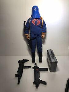 1992 Hasbro GI JOE COBRA COMMANDER With Weapons