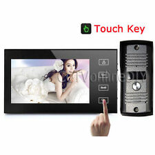 "Ultra-thin Home 7"" TFT LCD Color Video Door Phone Intercom System with Touch Key"
