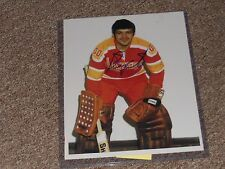 Boston Bruins Bernie Parent Autographed 8x10 Photo Blazers Uniform