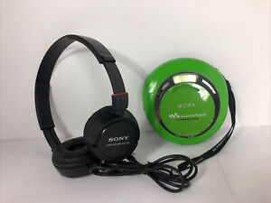 Sony Walkman Model D-EJ622 Green CD Player G-Protection. Excellent!