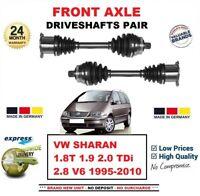 Pour VW Sharan 1.8T 1.9 2.0 Tdi 2.8 1995-2010 Neuf Essieu Avant Gauche+Droit