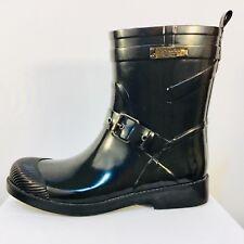 COACH Lester Rainboots, Black, size 7