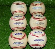 (6) Half Dozen Rochester Red Wings Official Minor League Baseballs Balls Twins