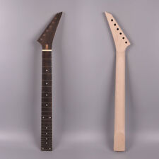 Diy Electric guitar neck 24 fret 25.5''inch maple rose wood hand made#J16