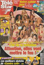 Télé Star N°1344 - 01/07/2002 - Loana - Cecile De France - L'île De La Tentation