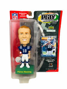PEYTON MANNING INDIANAPOLIS COLTS VINTAGE 2001 UPPER DECK PLAYMAKER BOBBLEHEAD
