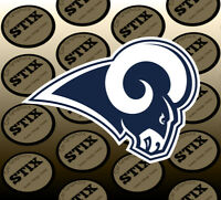 Los Angeles Rams Logo NFL Die Cut Vinyl Sticker Car Window Hood Bumper Decal