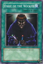 Yu-Gi-Oh 1x Exile of the Wicked - - - GLD2