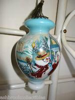 Ne Qwa Art  Reverse Handmade My First Snowman Ornament